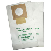 Green Klean Pro-Team Original Lil Hummer Replacement Filter Bag - 10 Pack GK-LilHum