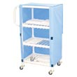 MJM 300 Series Linen Carts, PVC & Plastic Frame Linen Carts - Hospital & Medical Logistics Products