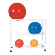 MJM 7000 Series Therapy Ball Racks, PVC & Plastic Frame Medical Rehabilitation Equipment