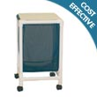 MJM Echo Series Hampers, PVC & Plastic Frame Laundry Hampers - Hospital & Medical Logistics Products