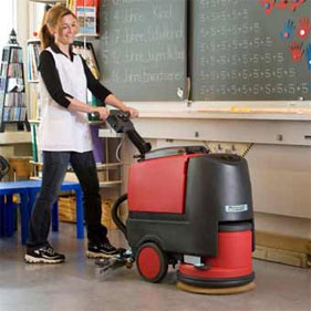 Cleanfix RA 431B Battery Floor Scrubber
