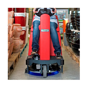 RA 535 Ride On Floor Scrubber, Riding Floor Scrubber