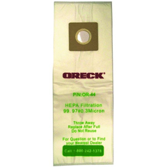 Oreck OR-44 Vacuum Bags - 4 Pack ORK-OR-44