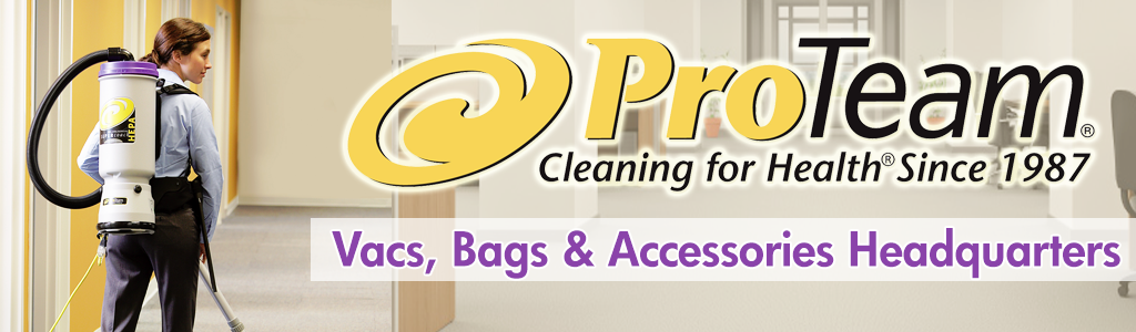 ProTeam Vacuums - All Styles