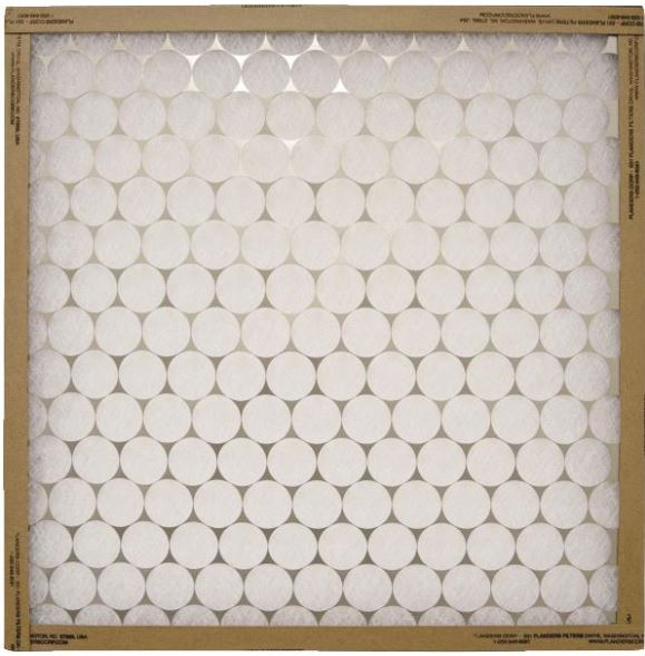 Heavy-Duty Spun Glass Fiberglass Furnace Filter