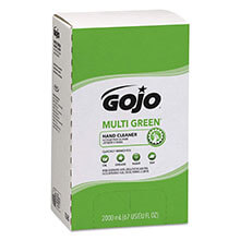 GOJO PRO 2000 MULTI GREEN Hand Cleaner - 2000-mL Cartridges