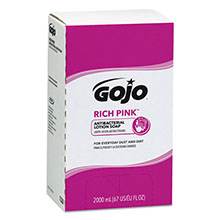 PRO 2000 RICH PINK Antibacterial Lotion Soap - 2000-mL
