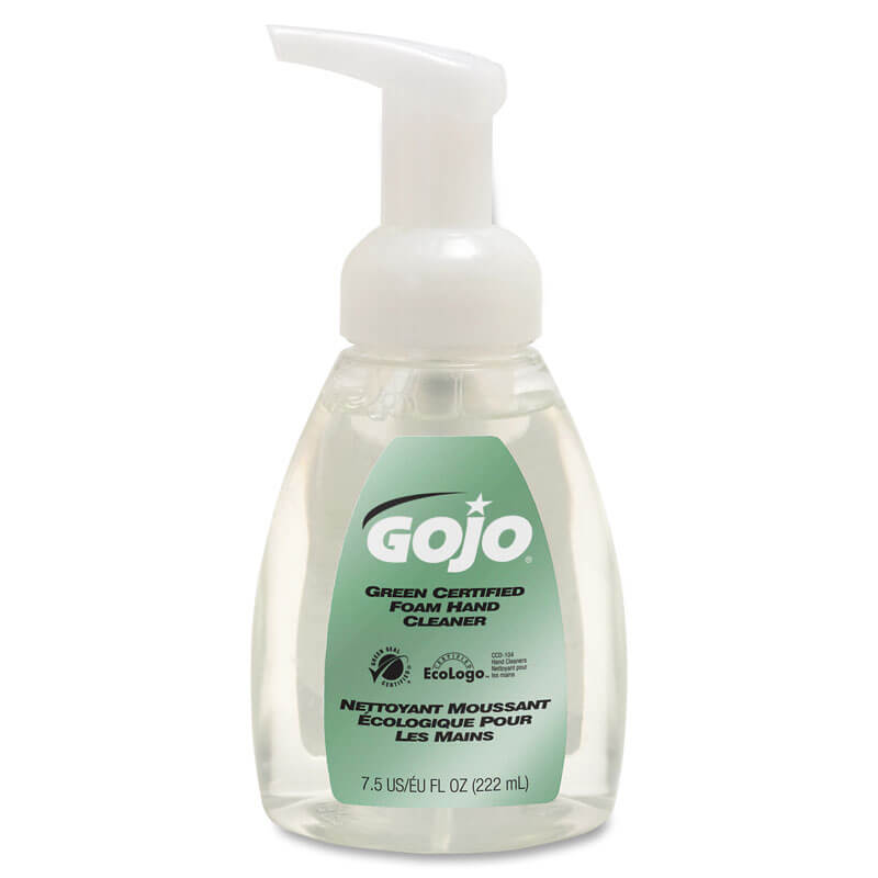 Green Certified Foam Soap Pump Bottle - Fragrance Free
