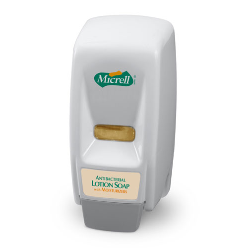 GOJO MICRELL 800 Series Bag-in-Box Soap Dispenser - White