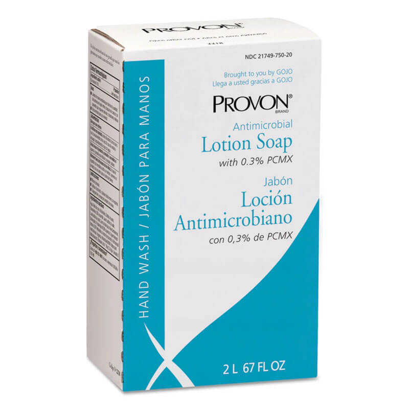 Provon Antimicrobial Lotion Soap w/ Chloroxylenol - 2 Liter Refill