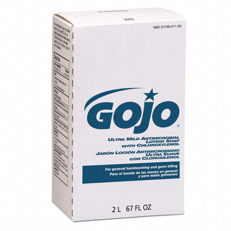 GOJO NXT Ultra Mild Antimicrobial Lotion Soap - 2000-mL Cartridges