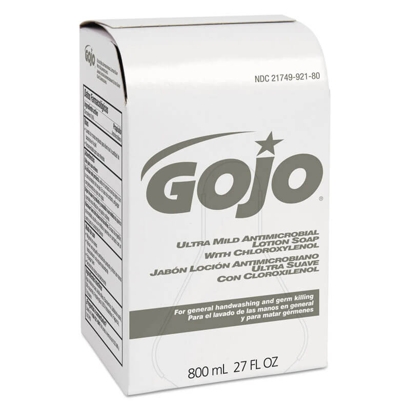 GOJO Ultra Mild Antimicrobial Lotion Soap