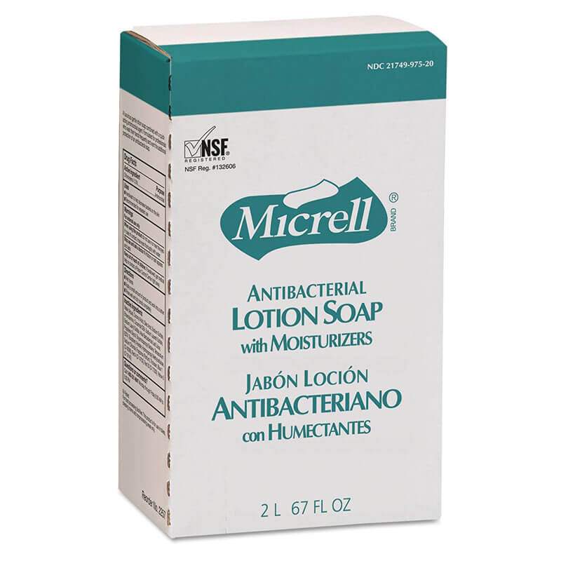 Micrell Antimicrobial Lotion Soap