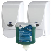 AeroGreen Antibacterial Soap Dispensing Pack - White
