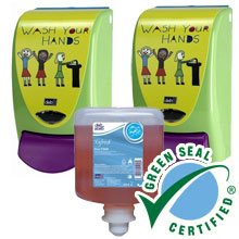 AeroRose Foam Soap Value Pack - Kids Wash Dispenser