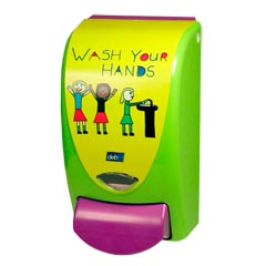 Restyle Curve Kids Wash Soap Dispenser 1 Liter