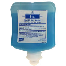 Aquaress Blue Hand & Body Shampoo