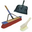 Commercial Brooms, Brushes & Accessories - Janitorial/Maintenance Supplies