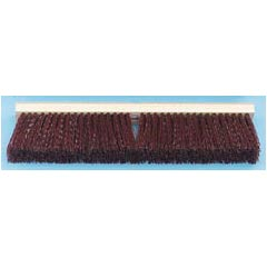 Proline Stiff Polypropylene Floor Brush Push Broom - 24
