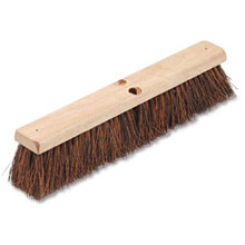 "Proline Palmyra Fiber Floor Brush Push Broom - 18"" Size"