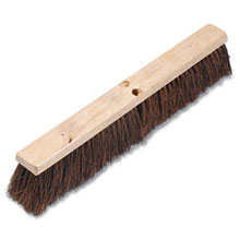 "Proline Palmyra Fiber Floor Brush Push Broom - 24"" Size BRU20124"