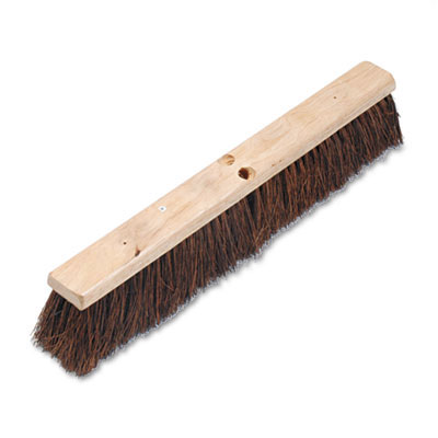 Proline Palmyra Fiber Floor Brush Push Broom - 24