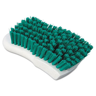 Boardwalk Green Polypropylene Scrub Brush