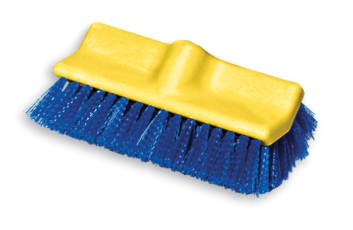Rubbermaid Bi-Level Poly Deck Scrub Brush
