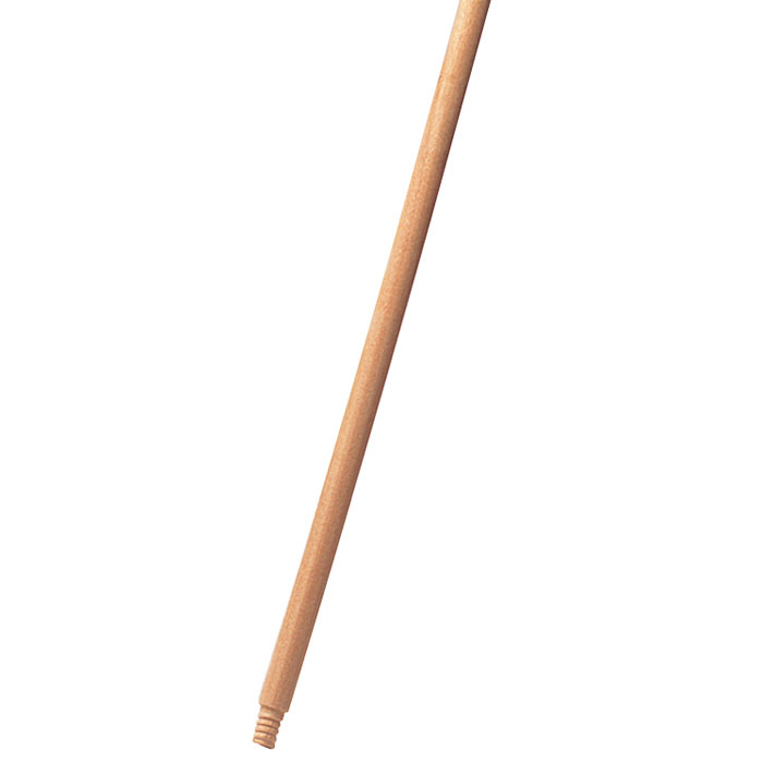 Wood Threaded-Tip Broom/Sweep Handle