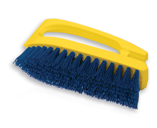 Rubbermaid Iron Handle Poly Scrub Brush - 6