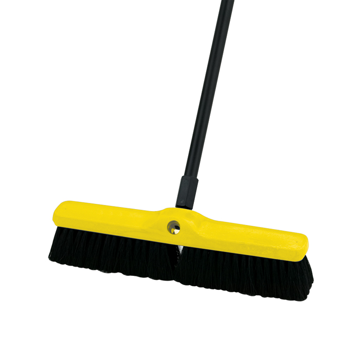 Plastic Foam Block Push Broom - 18