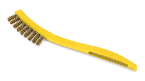 Rubbermaid Tile & Grout Metal-Fill Wire Scratch Brush