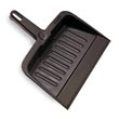 "Rubbermaid Heavy-Duty Dust Pan - Charcoal - 8 1/4"" Wide"