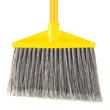 Rubbermaid [6375] Vinyl-Coated Metal Handle Angled Upright Broom RCP6375GRA