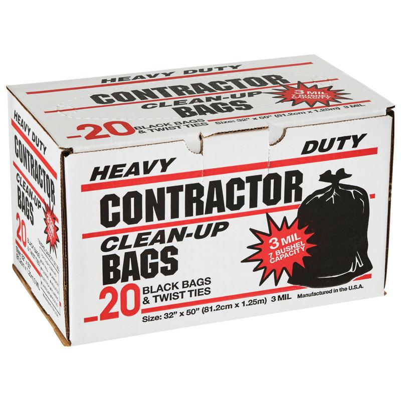Primrose 7 Bushel Contractor Cleanup Trash Bags 20 Pack
