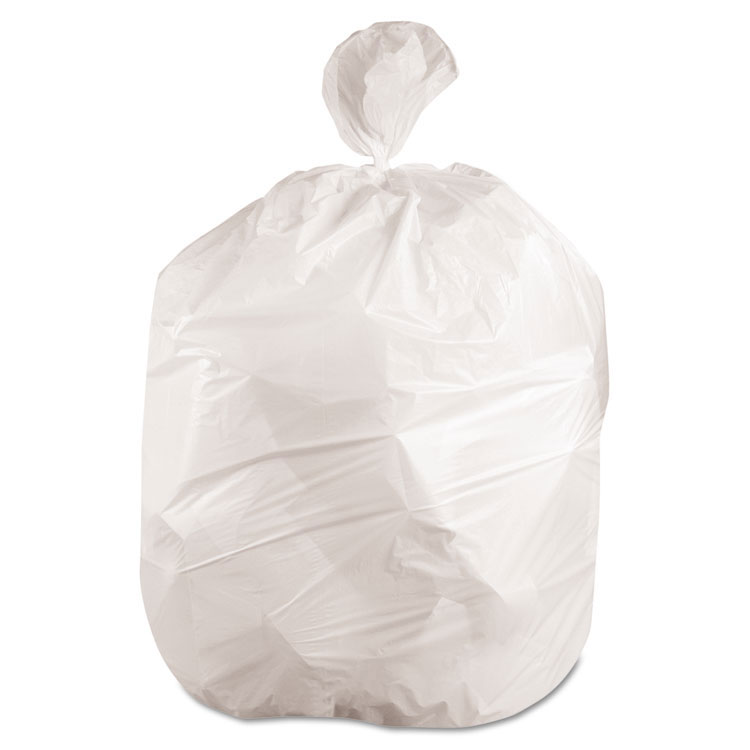 60 Gallon Heavy-Grade Can Liners, .60 Mil - (4) 25 Bags BWK3858EXH