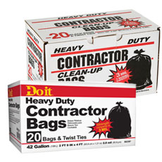 Contractor Grade Heavy-Duty Can Liners