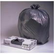 "Jaguar Plastics Gray ""Granite"" Commercial Can Liners - 33 x 39 - 1.3 Mil Gauge JAGG3339G"