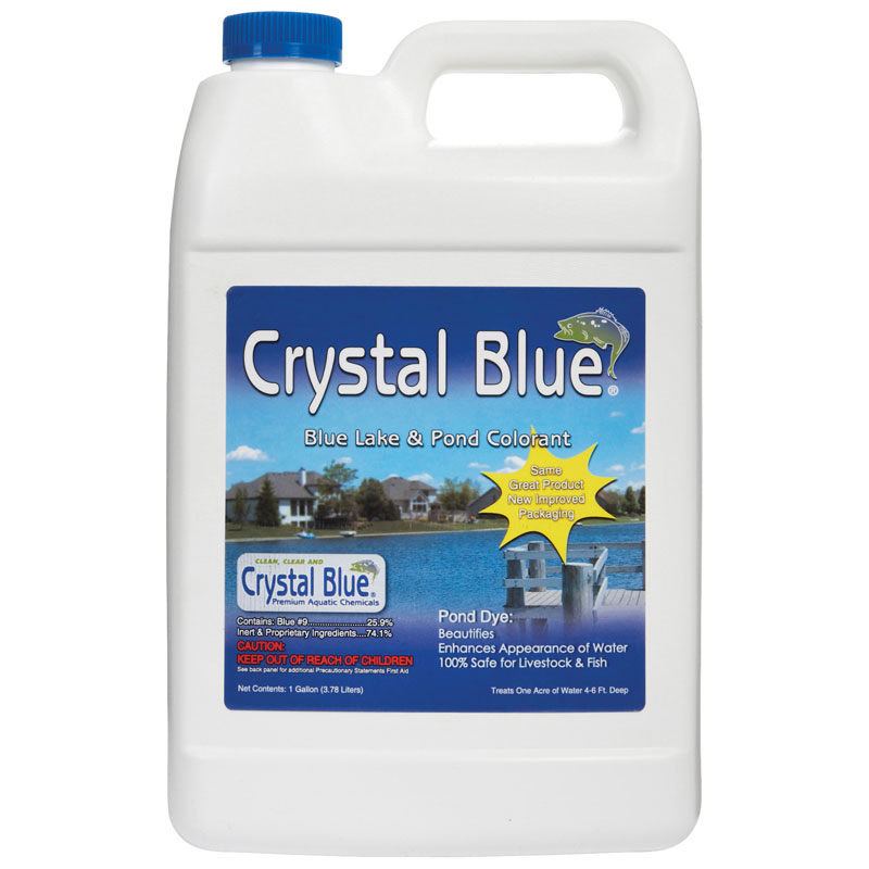 Crystal Blue Lake & Pond Colorant - 1 Gallon