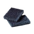 "3M™ [88] Scotch-Brite™ Extra Heavy Duty Pot 'n Pan Handler - Dark Blue - (40) 3 1/2"" x 5"" Pads - CLEARANCE CL-MCO88"