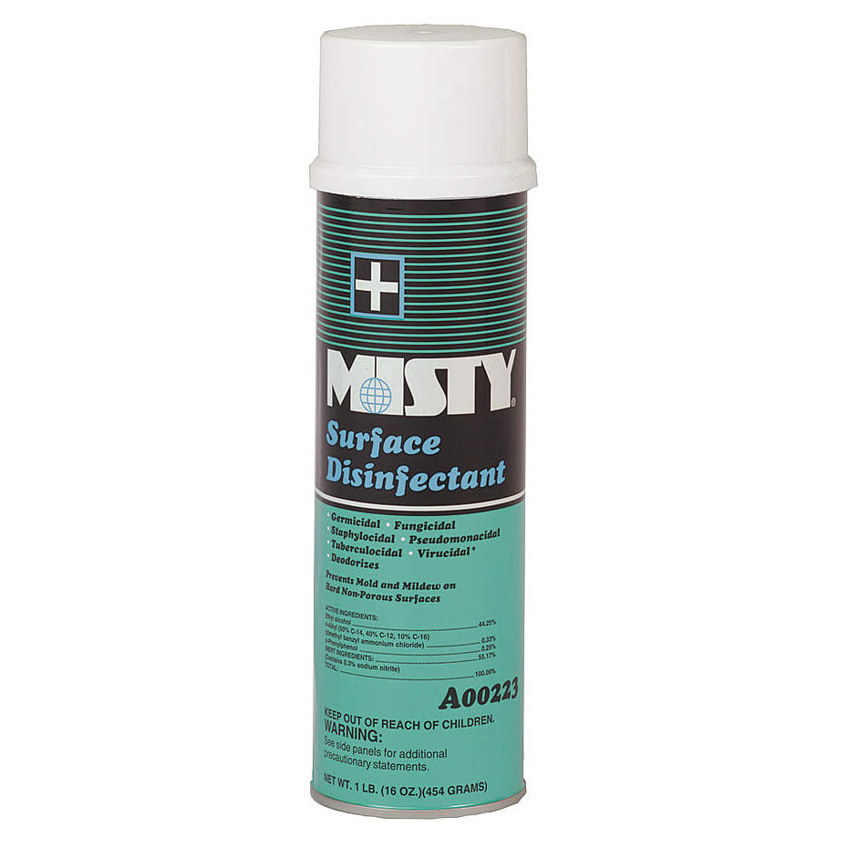 Misty Surface Disinfectant - 20 oz. Aerosol Can