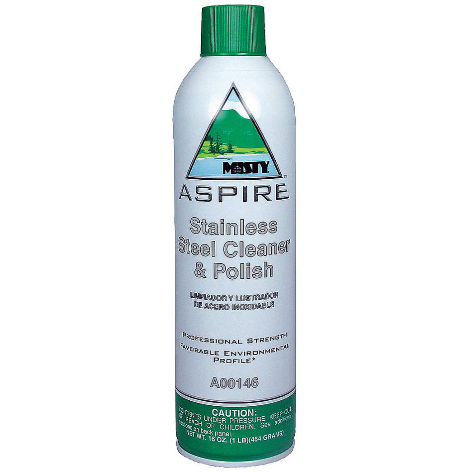 Amrep Misty ASPIRE Stainless Steel Cleaner & Polish
