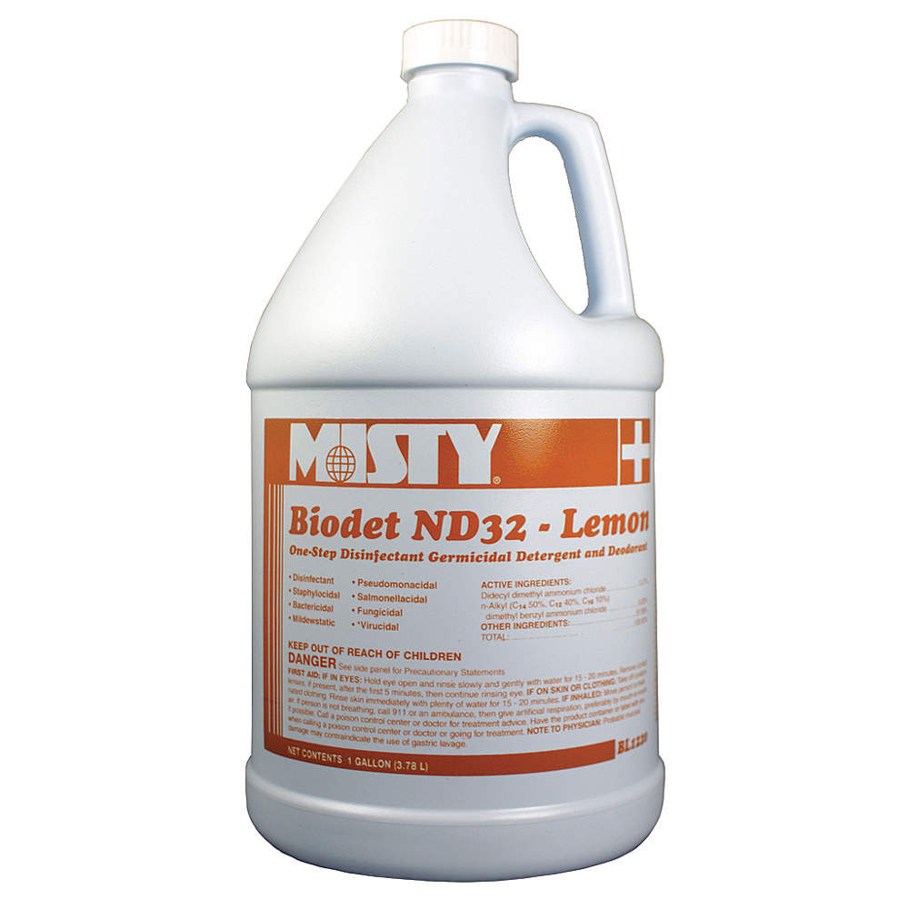 Misty Biodet ND32 Liquid Disinfectant Deodorizer - Lemon