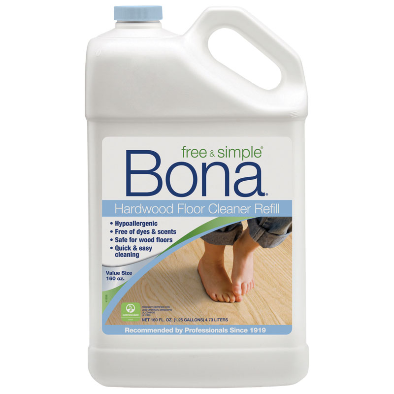 16 oz bona free simple wood floor cleaner unoclean for Wood floor cleaner bona