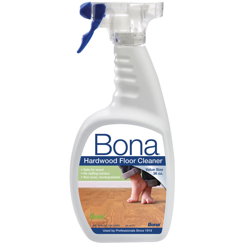 36 oz bona hardwood floor spray cleaner unoclean for Bona floor cleaner