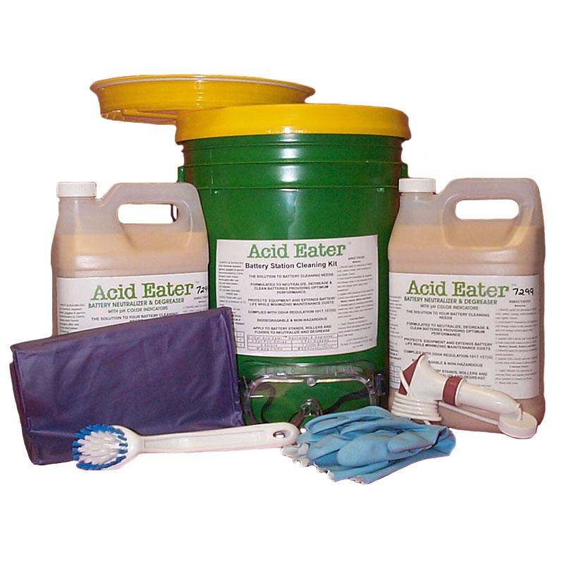 acid eater battery cleaning kit unoclean. Black Bedroom Furniture Sets. Home Design Ideas