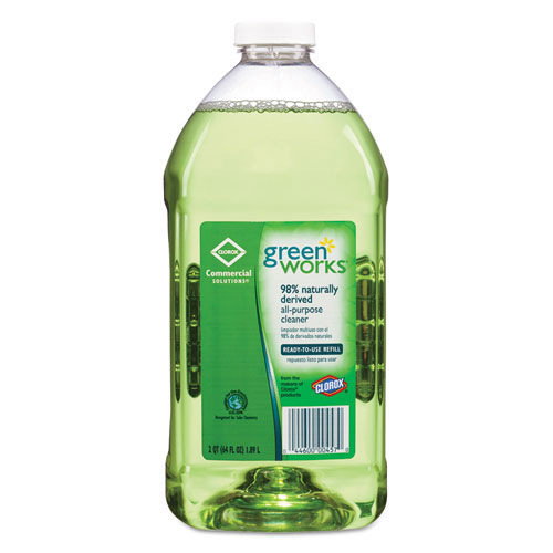 Green Works All-Purpose Cleaner, 64 oz. Refill Bottle CLO00457
