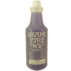 Grape Vine WB Malodor Deactivator & Suppresant - (12) 1 Quart Bottles D-267-Q