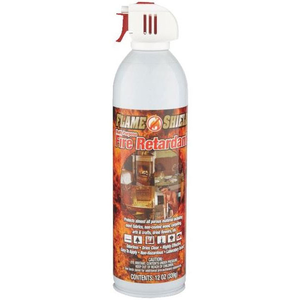 Flame-Shield Aerosol Fire Retardant - 12 oz.