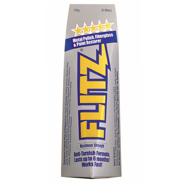 Flitz [BU 03515] Metal Polish, Fiberglass & Paint Restorer Paste - 150 Gram Tube